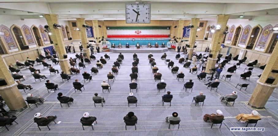 بالصور   مراسم تنفيذ الحكم للدورة الثالثة عشرة لرئاسة الجمهورية الإسلامية في إيران