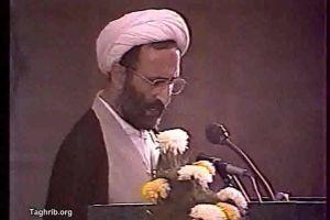 شیخ نبیل حلباوی ـ قرائت بیانیه مجمع اهل بیت علیهم السلام