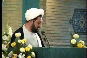 حجت الاسلام والمسلمین شیخ محمد سعید واعظی